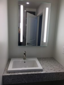 Main bath counter sink mirror
