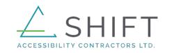 ARK Charity Calgary sponsor SHIFT logo